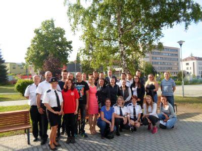 Transfúzní službu v Bruntále obsadili hasiči