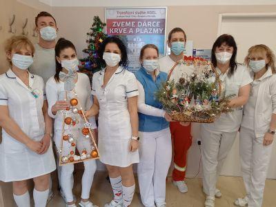 AGEL Transfúzní služba vytváří zásoby krve a plazmy pro vánoční svátky