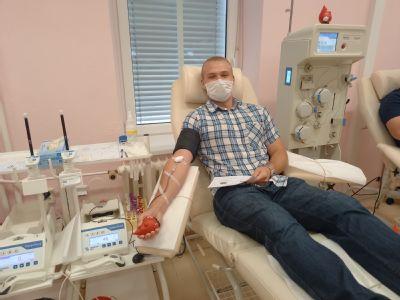 Pedagožka motivuje své studenty již několik let k dárcovství krve. Mnoho z nich se pak na transfúzní službu vrací pravidelně